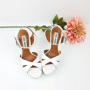 Steve Madden platform heels with ankle strap sz 7